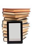 Leser und Bücher stockfoto