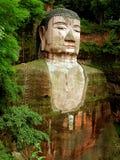 leshan Будды гигантское Стоковое фото RF