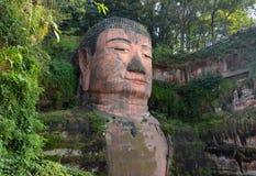 leshan Будды гигантское Стоковые Изображения