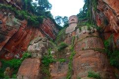 Leshan Buddha Lizenzfreies Stockbild