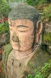 Leshan Buddha gigante, Sichuan. Fotos de Stock Royalty Free