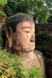 leshan buddha jätte Arkivbild
