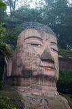 leshan buddha jätte royaltyfri bild