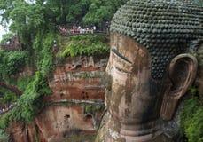 Leshan Buddha Stock Image