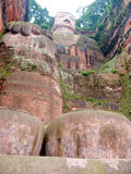 Leshan Budha. China sichun asia Stock Photos