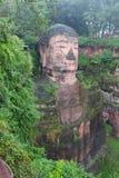 Leshan dafo. Giant Buddha in Leshan dafo of 71 meter high Stock Photo