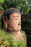 Leshan Giant Buddha. Is located in Leshan City, Sichuan Province, is the fine art of the Tang Dynasty statues Mo Yan is one of the world's largest stone Buddha Stock Photography