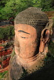 Leshan Giant Buddha. Is located in Leshan City, Sichuan Province, is the fine art of the Tang Dynasty statues Mo Yan is one of the world's largest stone Buddha Stock Photo