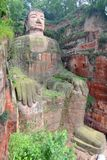 Leshan Giant Buddha, Sichuan, China Royalty Free Stock Images