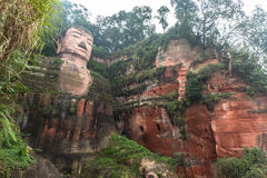 Leshan Giant Buddha, China Royalty Free Stock Images
