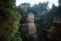 Leshan Giant Buddha, china Royalty Free Stock Image