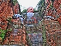 Leshan Giant Buddha China. Taken in 2015 Royalty Free Stock Image