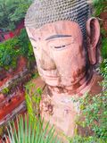 Leshan Giant Buddha. Dafo, UNESCO World Heritage site, Le Shan City, Sichuan, China Stock Photography