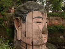 Leshan Giant Buddha in Leshan, Peoples Republic of China Stock Photos