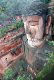 Leshan Giant Buddha in Mt.Emei royalty free stock photos