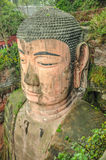 Leshan Giant Buddha, Sichuan. Royalty Free Stock Photos