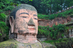 Leshan Giant Buddha, Sichuan, China Royalty Free Stock Photos