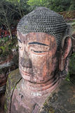 Leshan Giant Buddha in Sichuan province in China Royalty Free Stock Images
