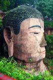 Leshan Giant Buddha in sicuan Royalty Free Stock Photography