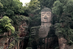 Leshan Golden Buddha Royalty Free Stock Image