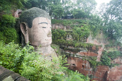 Leshan Grand Buddha Royalty Free Stock Image