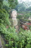 Leshan Grand Buddha Stock Photo