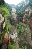 Leshan Grand Buddha Royalty Free Stock Images
