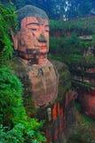 Leshan jätte Buddha Fotografering för Bildbyråer