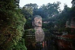 Leshan jätte- Buddha, Kina Royaltyfri Bild