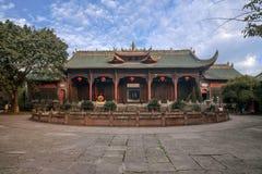 Leshan miasta, Sichuan Qianwei Qianwei Dacheng Świątynna brama Fotografia Royalty Free