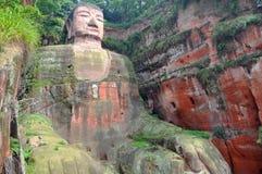 Leshan Riese Buddha Stockfoto