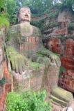 Leshan Riese Buddha Lizenzfreie Stockbilder