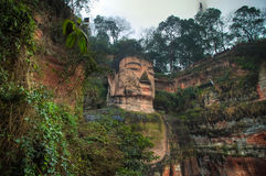 Leshan-Riese Buddha stockfotografie