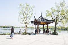 Leshui pavilion Royalty Free Stock Photo