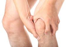 Lesión de rodilla Fotografía de archivo