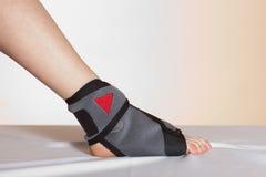 Lesión del pie Foto de archivo