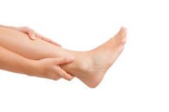 Lesione del muscolo Immagine Stock