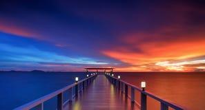 Lesisty most Zdjęcie Royalty Free