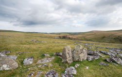 Leskernick on Bodmin Moor Stock Image