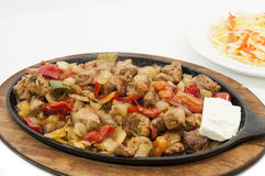 Leskovacka muckalica. Serbian special dish Leskovacka Muckalica from southern Serbia city Leskovac Stock Photo