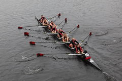 Lesley University  Women's Crew Royalty Free Stock Photos