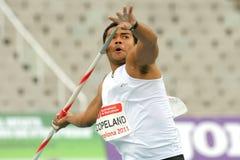 Leslie Copeland van Republiek Fiji Stock Fotografie