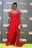 Leslie Jones. At the World premiere of 'Ghostbusters' held at the TCL Chinese Theatre in Hollywood, USA on July 9, 2016 stock photos