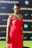 Leslie Jones. At the World premiere of 'Ghostbusters' held at the TCL Chinese Theatre in Hollywood, USA on July 9, 2016 stock photo