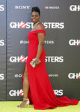 Leslie Jones. At the World premiere of 'Ghostbusters' held at the TCL Chinese Theatre in Hollywood, USA on July 9, 2016 stock photography