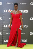 Leslie Jones. At the World premiere of 'Ghostbusters' held at the TCL Chinese Theatre in Hollywood, USA on July 9, 2016 stock image