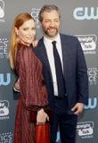 Leslie Mann i Judd Apatow Zdjęcie Royalty Free