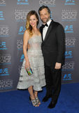 Leslie Mann & Judd Apatow Obrazy Royalty Free