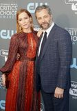 Leslie Mann and Judd Apatow Stock Photos