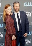 Leslie Mann and Judd Apatow Royalty Free Stock Photo